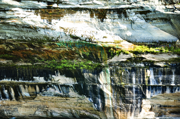 Colorful Cliff by Photo Art Unlimited