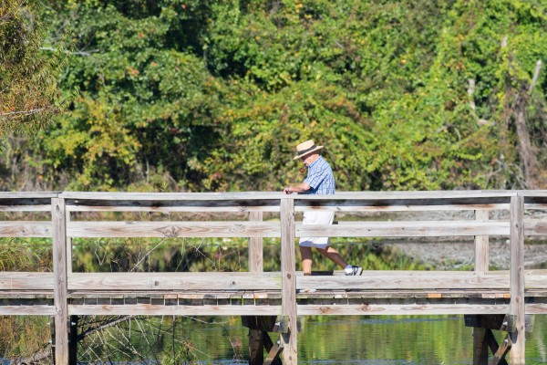 Cigar Smoker at Brick Pond Park   North Augusta 8736 by @ThePhotourist