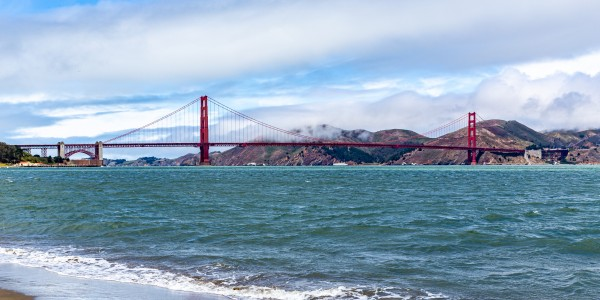 Golden Gate Bridge from Crissy Field 2008 by @ThePhotourist