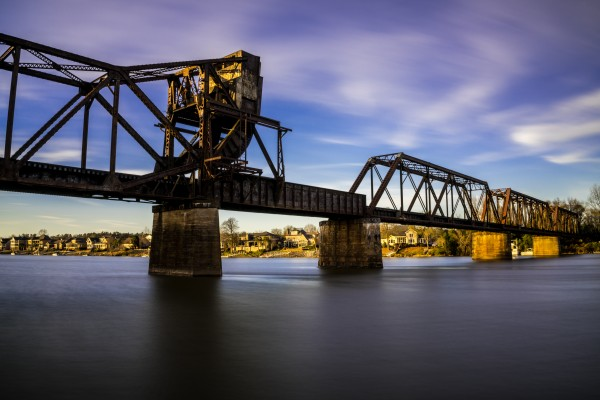 Sixth Street Bridge Augusta GA by @ThePhotourist