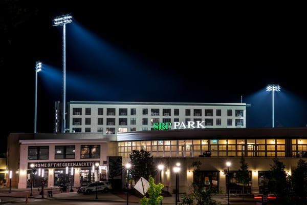 SRP Park at Night   North Augusta 7837 by @ThePhotourist