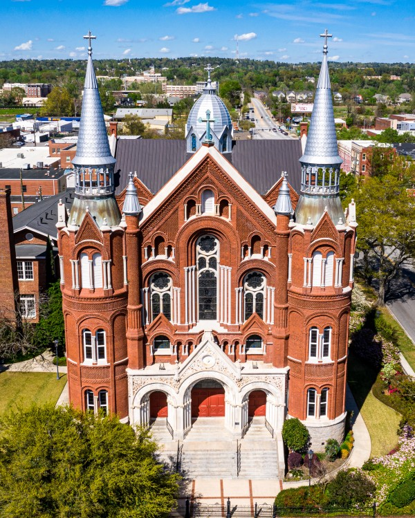 Sacred Heart Cultural Center Aerial 0359 by @ThePhotourist
