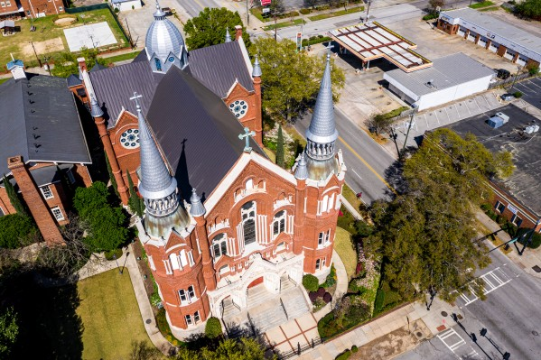 Sacred Heart Cultural Center Aerial 0377 by @ThePhotourist