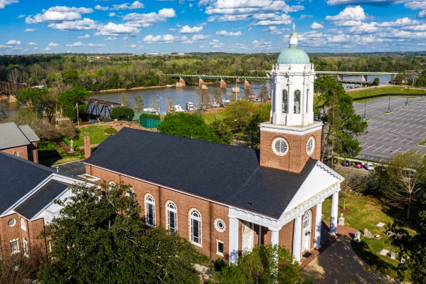 St Pauls Church Augusta Aerial View 0398 by @ThePhotourist