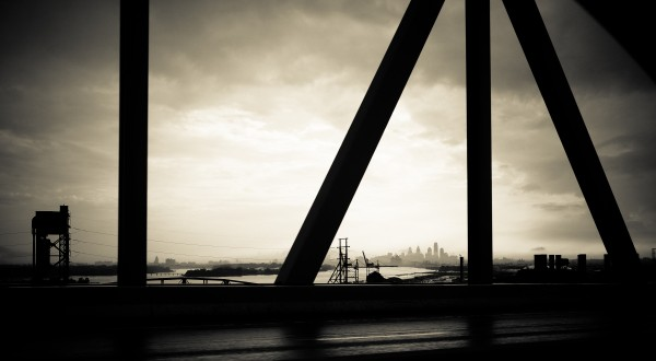 Betsy Ross Bridge Philly by Victor F Rodriguez Jr