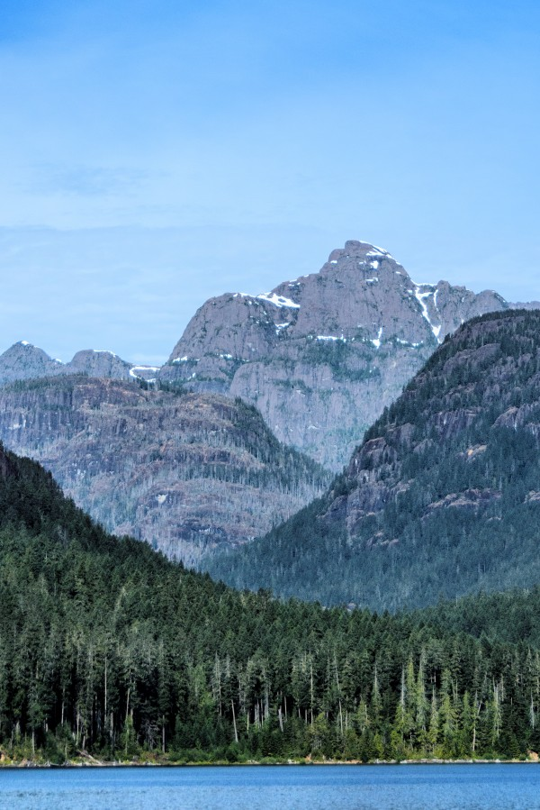 Peaks of Strathcona park by Violet Carroll