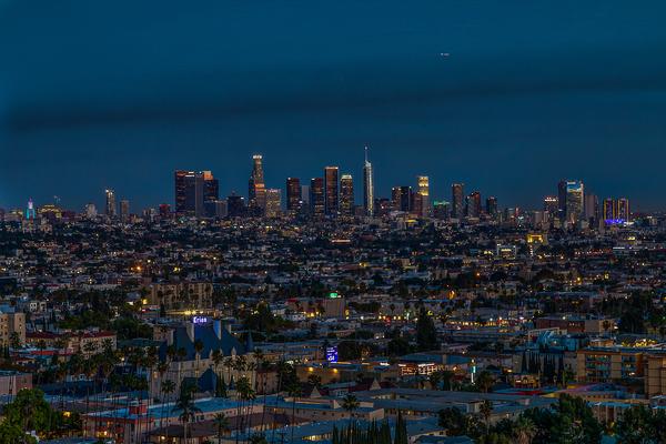 Los Angeles At Night Digital Download