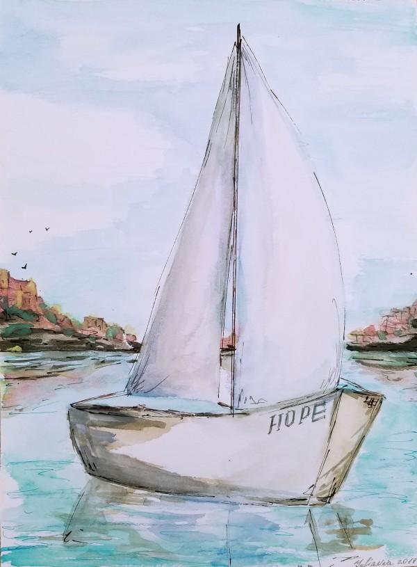 Hope by Yuliya Marusina