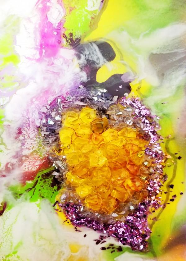 Yellow Amber by Yuliya Marusina