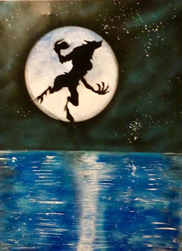 full moon 1 by behzad masoumi