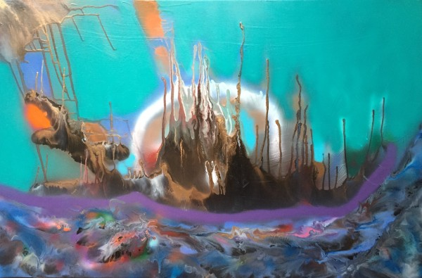 Behind the horizon 1 by behzad masoumi