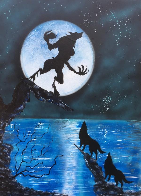 Werewolf  by behzad masoumi