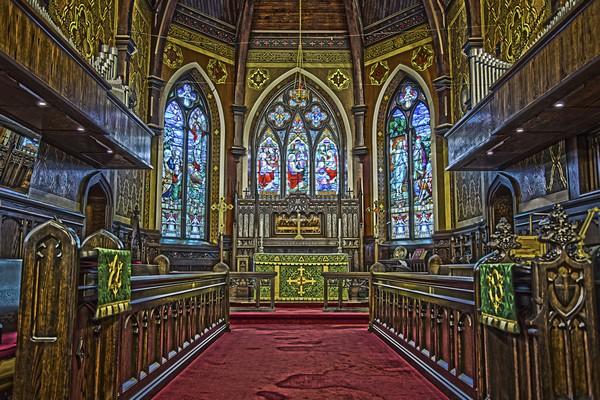 Church Interior  Print