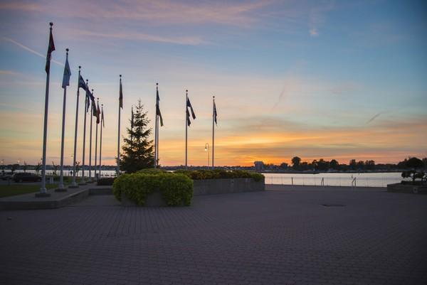 Sunset on the Lake  Print