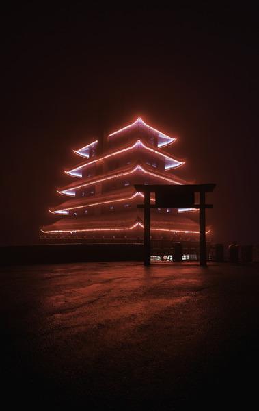 Pagoda by longfire