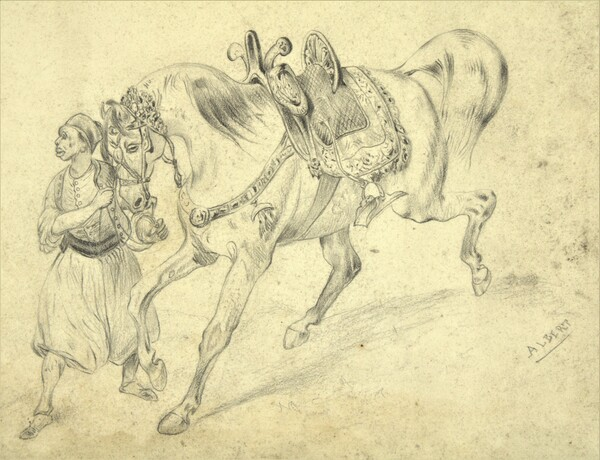 Zouave by Albert Syssau by sebastien syssau