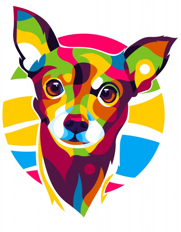 Little Puppy Dog Portrait by wpaprint