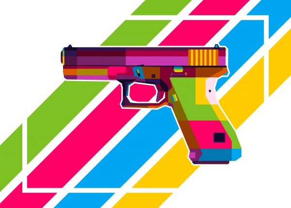 Glock Handgun by wpaprint