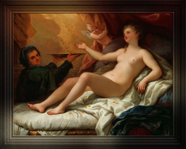 Danae by Paolo de Matteis Classical Art Old Masters Reproduction by xzendor7