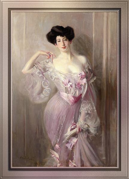 Elizabeth Wertheimer 1877 - 1953 by Giovanni Boldini Classical Art Reproduction by xzendor7