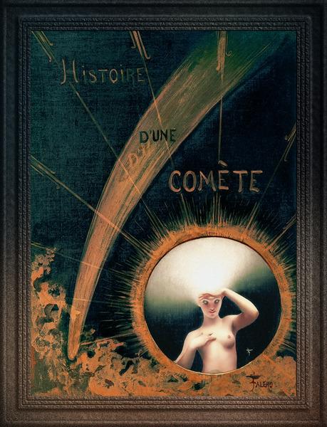 Histoire dune Comete by Luis Ricardo Falero Classical Fine Art Xzendor7 Old Masters Reproductions by xzendor7
