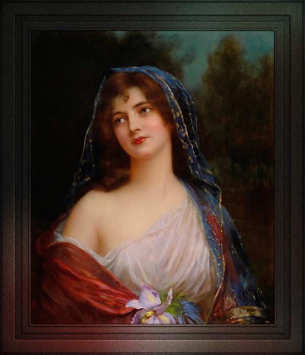 Iris Portrait Of A Lady by Abbey Altson by xzendor7