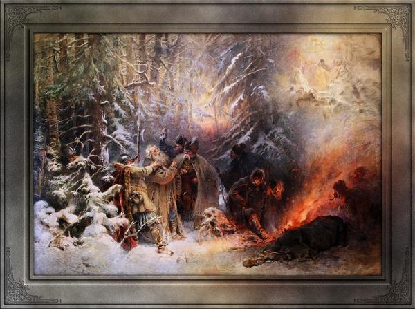 Ivan Susanin by Konstantin Makovsky Classical Fine Art Xzendor7 Old Masters Reproductions by xzendor7