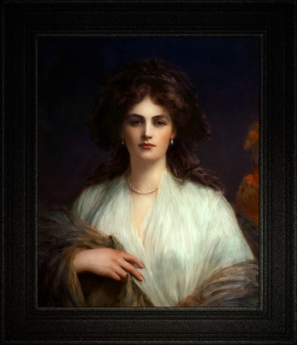 Lady Beatrice Butler by Ellis William Roberts Old Masters Classical Fine Art Reproduction by xzendor7