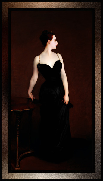 Madame X by John Singer Sargent Fine Art Old Masters Reproduction by xzendor7