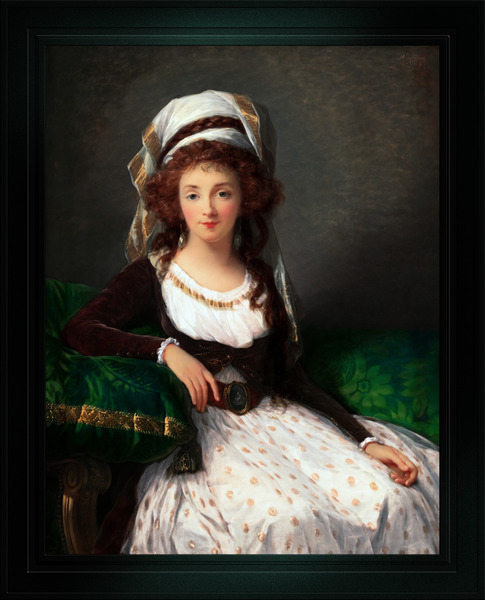 Madame dAguesseau de Fresnes by Elisabeth-Louise Vigee Le Brun Classical Xzendor7 Old Masters Fine Art Reproduction by xzendor7