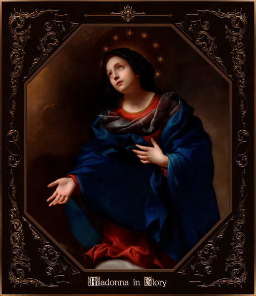 Madonna in Glory by Carlo Dolci Classical Art Xzendor7 Old Masters Reproductions by xzendor7