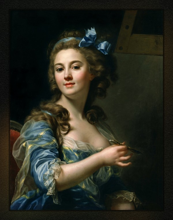 Marie Gabrielle Capet by Marie-Gabrielle Capet Classical Art Old Masters Reproduction by xzendor7