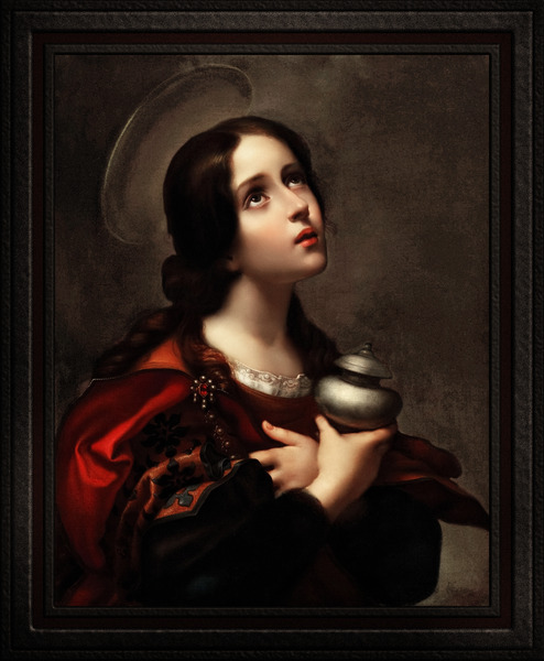 Mary Magdalene by Carlo Dolci Classical Art Xzendor7 Old Masters Reproductions by xzendor7