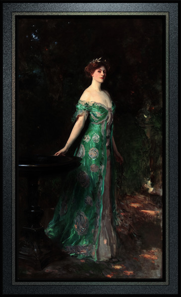 Millicent Duchess Of Sutherland by John Singer Sargent Old Masters Classical Fine Art Reproduction by xzendor7