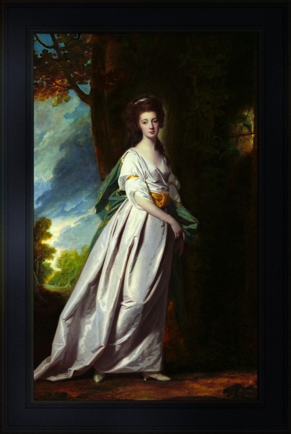 Mrs. Thomas Scott Jackson by George Romney Old Masters Classical Fine Art Reproduction by xzendor7