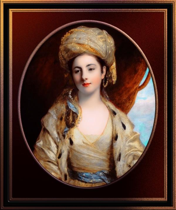 Mrs. Richard Paul Jodrell by Joshua Reynolds Classical Fine Art Reproduction by xzendor7