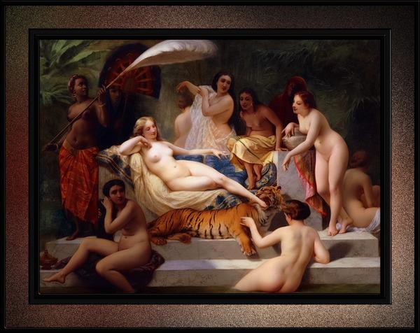 Odalisque by Henri-Pierre Picou Classical Art Reproduction by xzendor7
