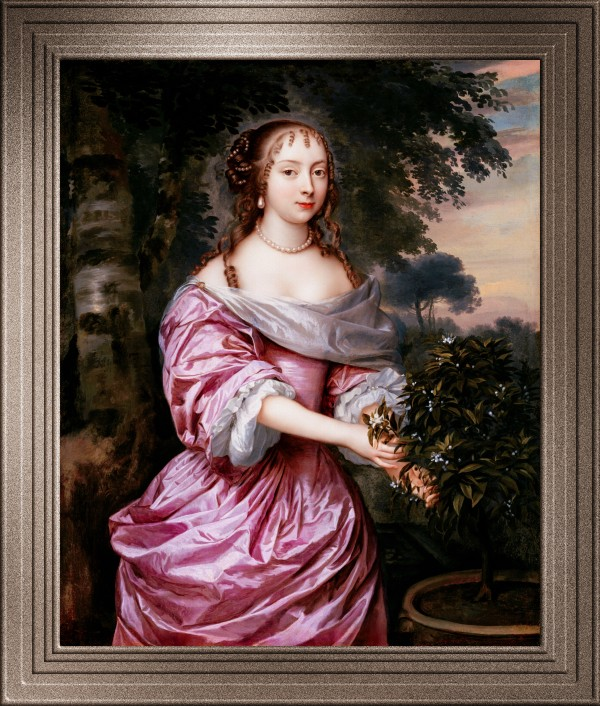 Portrait Of A Woman by Jan Mytens Classical Art Old Masters Reproduction by xzendor7