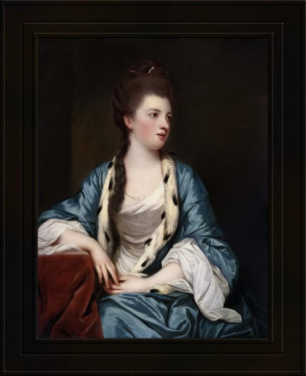 Portrait of Elizabeth Kerr of Lothian by Joshua Reynolds Old Masters Classical Fine Art Reproduction by xzendor7