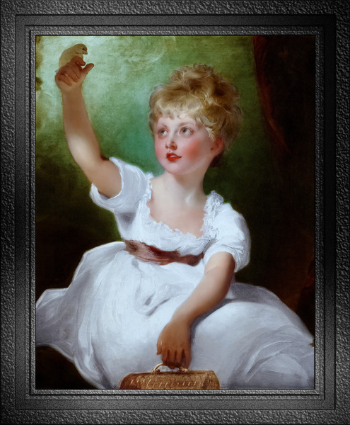 Princess Charlotte of Wales by Sir Thomas Lawrence Classical Fine Art Xzendor7 Old Masters Reproductions by xzendor7