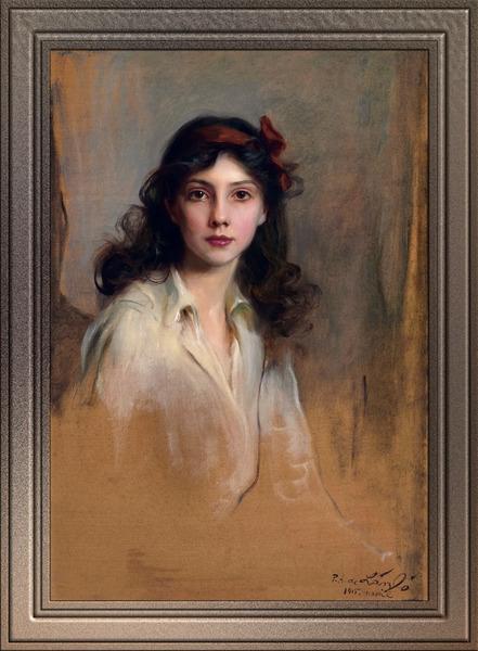 Princess Xenia Georgievna of Russia by Philip de Laszlo Classical Art Xzendor7 Old Masters Reproductions by xzendor7