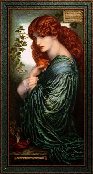 Proserpine by Dante Gabriel Rossetti Fine Art Xzendor7 Old Masters Reproductions by xzendor7