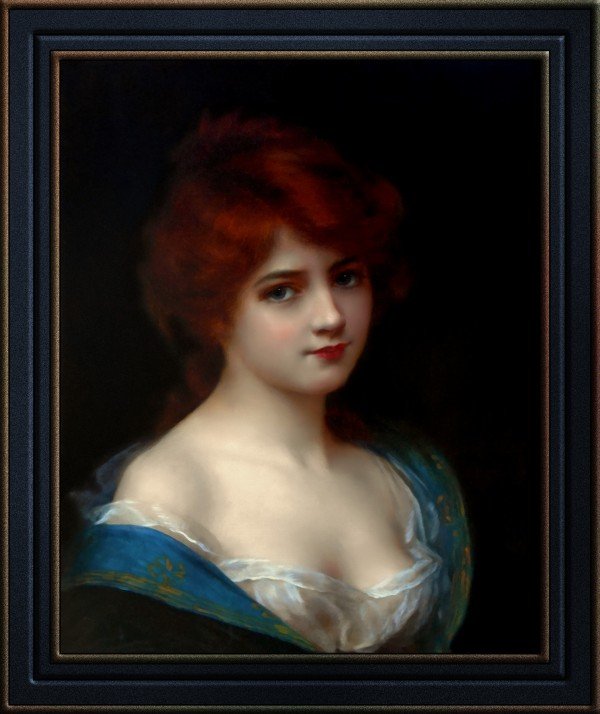 Redhead Beauty by Abbey Abraham Altson by xzendor7