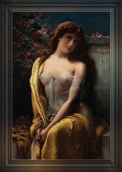 Starlight by Emile Vernon Old Masters Classical Fine Art Reproduction by xzendor7