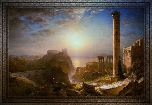 Syria by the Sea  by Frederic Edwin Church Old Masters Reproduction by xzendor7