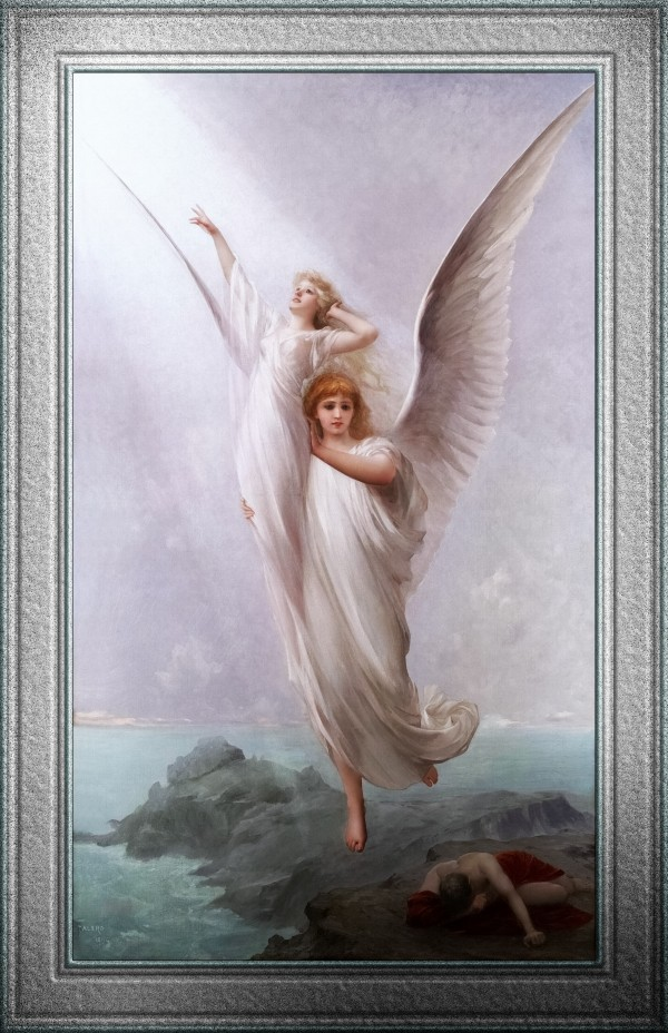 The Human Soul by Luis Ricardo Falero Old Masters Fine Art Reproduction by xzendor7
