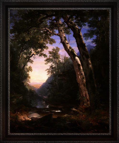 The Catskills by Asher Brown Durand Old Masters Fine Art Reproduction by xzendor7