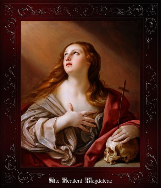 The Penitent Magdalene by Guido Reni Classical Fine Art Xzendor7 Old Masters Reproductions by xzendor7