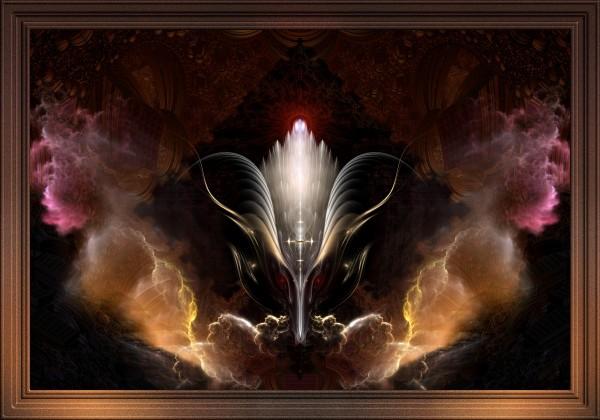 The Renidron Fantasy Fractal Art Composition by xzendor7
