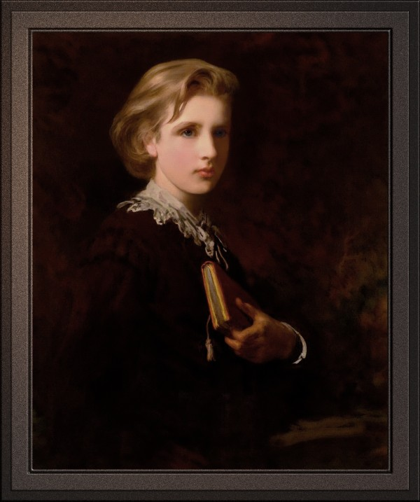 The Student by James Sant Old Masters Reproduction by xzendor7